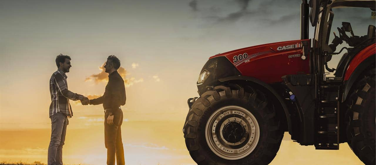 Case IH Safeguard Warranty provides UK & ROI customers with extended coverage and complete peace of mind